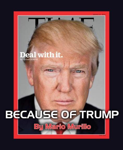 Because of Trump blob